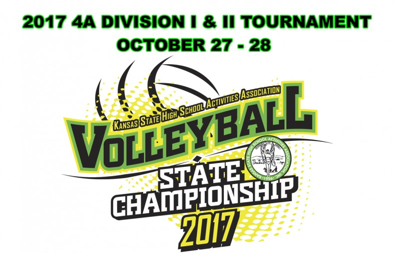 KSHSAA 2017 Class 4A DI-DII State Volleyball Tournament