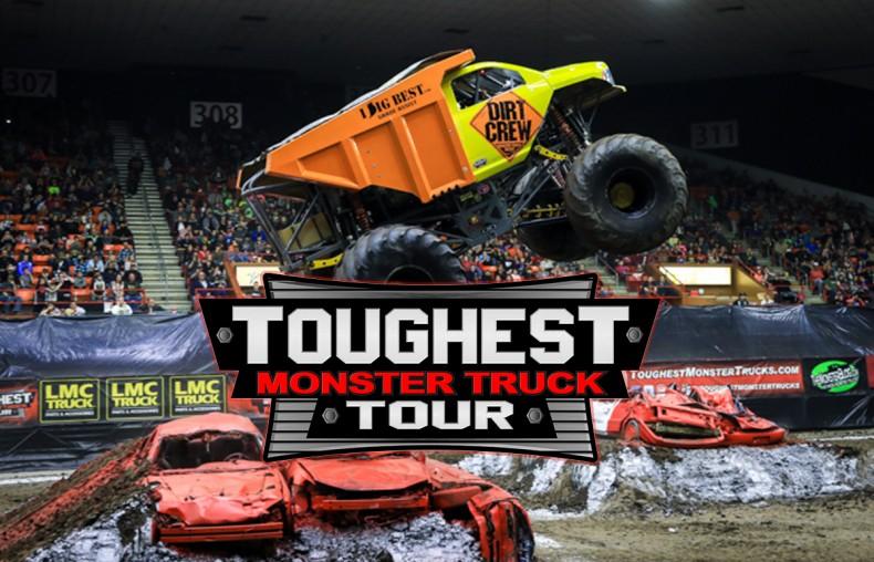 Events Toughest Monster Truck Tour Tony S Pizza Events Center