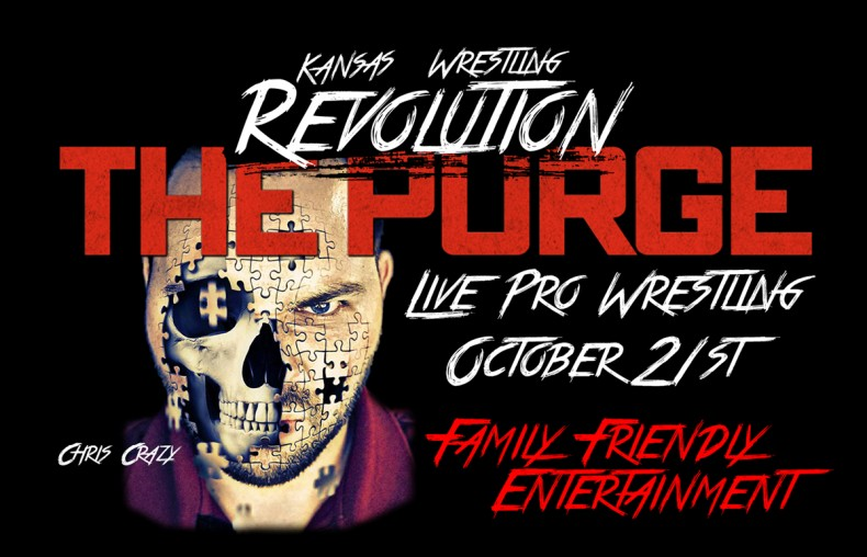 Events: Kansas Wrestling Revolution The Purge | Tony's Pizza
